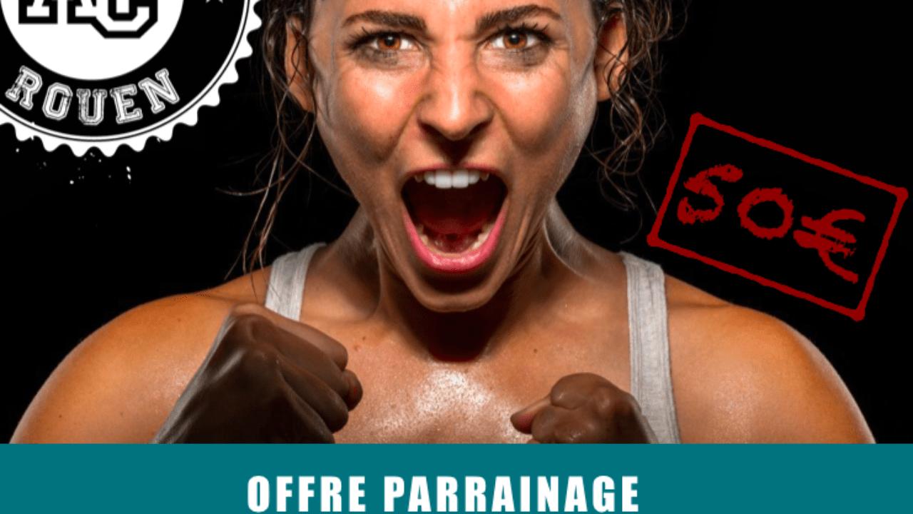 Offre parrainage CrossFit Rouen